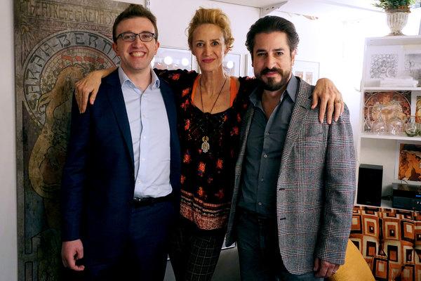 Marcus Mucha, Janet McTeer and Matthew Saldivar
